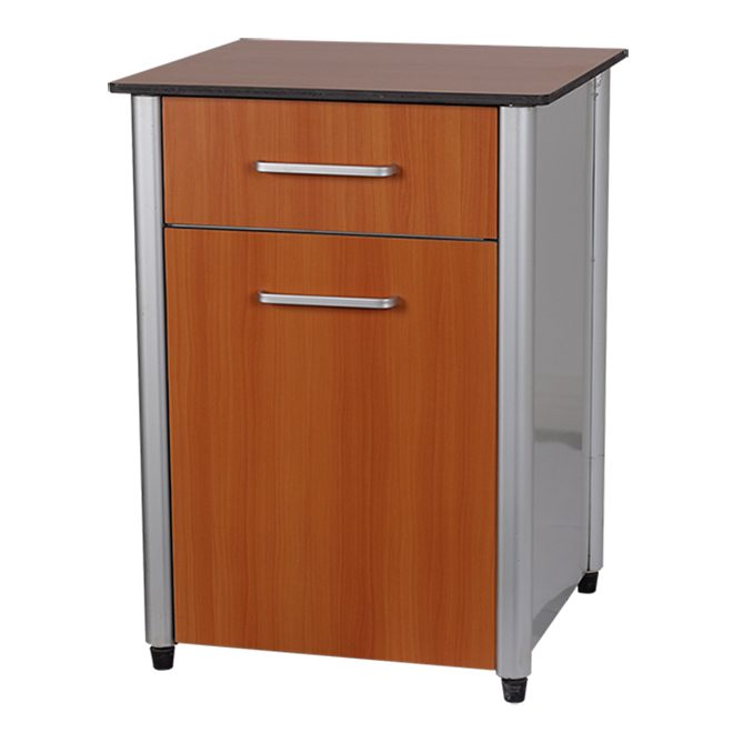 SKS010-2 Hospital Wood Bedside Storage Cabinet